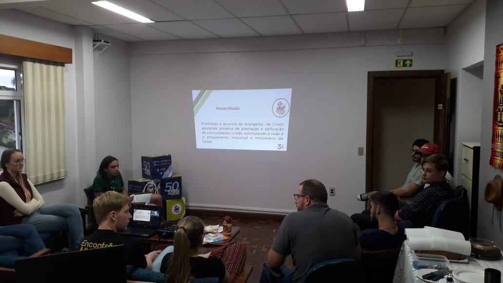 Café com Missão – MZ e acadêmicos da FATEV